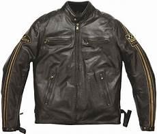 blouson helston s ace cuir rag marron sasie center moto