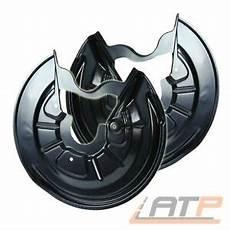 2x ankerblech f 220 r bremsscheibe hinten f 220 r audi a3 8p bj 03
