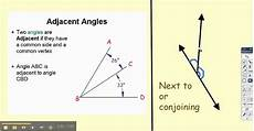 adjacent congruent bisector linear pair comp angles youtube