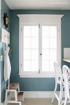wall color is aegean teal from benjamin beautiful