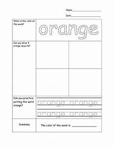 avid cornell notes kindergarten color words worksheets by all of the above