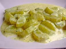 Schmorgurken Rezept Einfach - schmorgurken in frischk 228 sesauce rezept mit bild