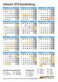 kalender 2018 brandenburg zum ausdrucken 171 kalender 2018
