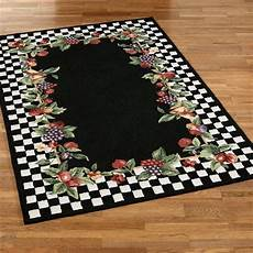 Kitchen Area Rugs With Fruit by Sonoma Hooked Fruit Area Rugs
