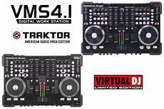 american audio vms4 1 american audio vms4 1 with dj le and traktor dj software disc jockey news