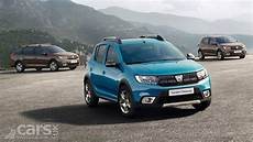 Dacia Sandero Sandero Stepway And Logan Get A Makeover