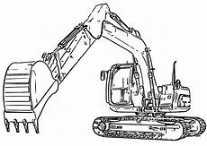 Ausmalbilder Kinder Bagger Excavator Coloring Pages To And Print For Free