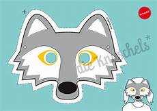 Wolf Mask For Children Pdf Print It Yourself By