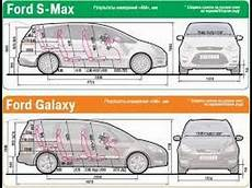Ford Galaxy Abmessungen - тест драйв ford galaxy и ford s max
