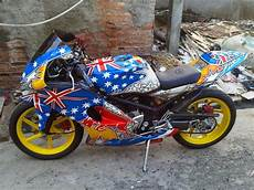 Modifikasi Rr by Modifikasi Rr Mono 250 150 Fi Fairing Bagus