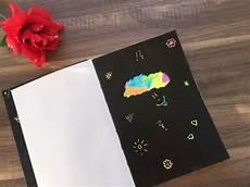 Diy Kratzbilder Herstellen Scratch Bilder Basteln