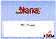 large dl merry christmas nana insert cup901808 359 craftsuprint