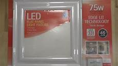 feit flat panel led light fixture detailed install and