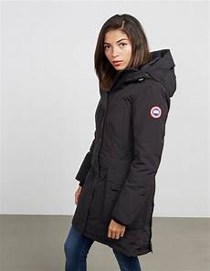 womens canadian goose winter coats canada goose kinley parka padded jacket tessuti