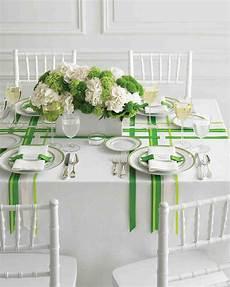 wedding colors green and white martha stewart weddings