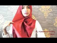 Tutorial Pashmina Satin Shawl Simple Tutorial