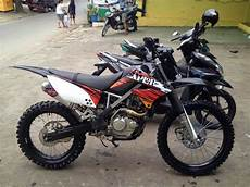 Satria Modif Trail by Modifikasi Motor Trail Jadul Supra Fit Bebek Fiz R Klx Ktm