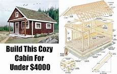 shtf house plans build this cozy cabin for 6000 diy cabin shtf and