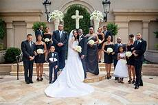 gorgeous black and white wedding by janet howard studio and marlon