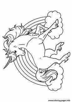 Malvorlage Regenbogen Einhorn Rainbow Unicorn Unicorn Coloring Pages Unicorn Coloring