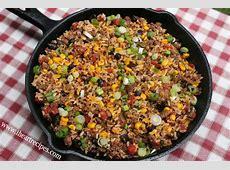 Tex Mex Beef Skillet   I Heart Recipes