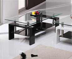 Black Gloss Glass Coffee Table