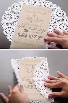 unique diy wedding invitation ideas do it yourself ideas