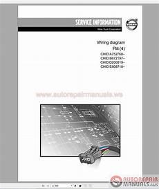 auto repair manuals volvo truck fm4 wiring diagram