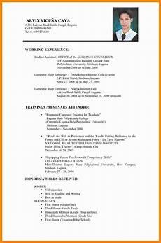 5 cv sle philippines theorynpractice