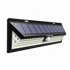 eclairage led exterieur solaire version puissante mpow 102 led eclairage solaire ext 233 rieur le solaire etanch ebay