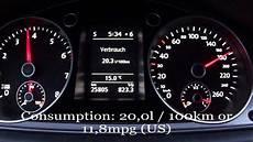 2012 Vw Passat 1 4 Tsi Fuel Consumption Test