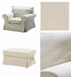 ikea slipcovers ikea ektorp armchair and bromma footstool ottoman