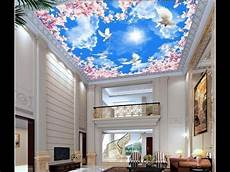 Tren Wallpaper Plafon Ruamah Motif Awan