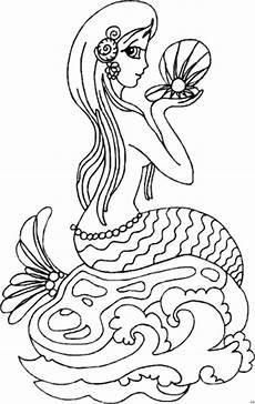 meerjungfrau ausmalbild malvorlage comics