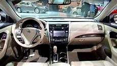 nissan altima interior 2013 nissan altima interior debut at 2012 new york auto