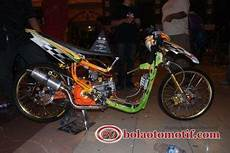 Modifikasi Motor Matic Mio Sporty by Cinta Ku Kejam Racing Ku Indah Inspirasi Modifikasi Motor
