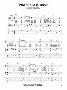 what child is this sheet music william c dix guitar tab