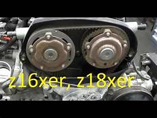 Opel Astra Zahnriemen - camshaft gear adjusters replacement on z16xer z18xer astra