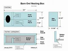 barn owl house plans how to build a barn owl nesting box barn owl nest box