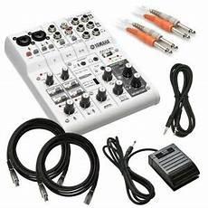 usb audio interface vs mixer yamaha ag06 six channel mixer and usb audio interface cable kit 86792997513 ebay