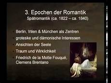 Epoche Romantik Referat