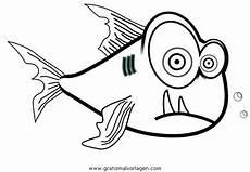 piranha 5 gratis malvorlage in fische tiere ausmalen