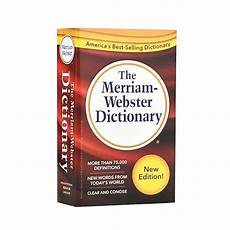 libreria webster the merriam webster dictionary version new
