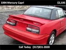 car repair manuals online free 1994 mercury capri parental controls 1994 mercury capri problems online manuals and repair information