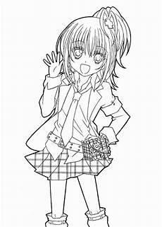 Anime Malvorlagen Novel Malb 252 Cher Anime Sch 246 Ne Hotaru Shugo Chara Anime