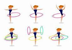 Hula Hoop übungen - free hula hoop vector free vectors clipart