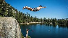 insane cliff jumping a how to guide with robert wall in lake tahoe youtube