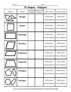 shapes attributes worksheets 1035 2d shapes attributes by school of design teachers pay teachers