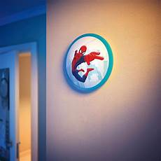 philips marvel spider man children s wall and ceiling light 1 4 w integrated led co