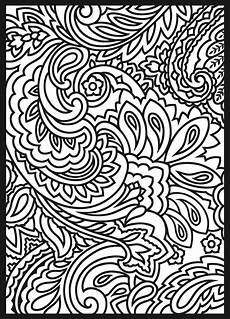 paisley design coloring pages for adults coloringstar